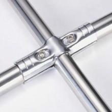 供应线棒镀铬接头精益管连接件银白色接头HJ系列批发