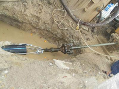 供应兰州市非开挖顶管施工工程图片