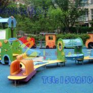 长寿区幼儿园彩色塑胶地面图片
