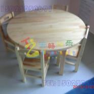 重庆江北幼儿园木质桌椅图片