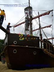 重庆超大型儿童游乐海盗船图片