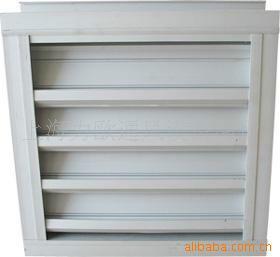 供应北京铝合金防雨防沙百叶窗