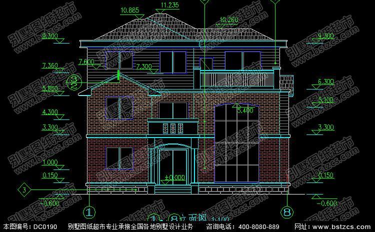 90平方农村别墅设计图 80平方小别墅设计图 二层90平方图片
