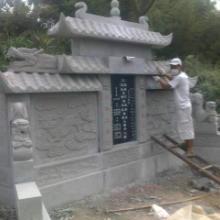 供应重庆坟山石墓碑栏杆,重庆墓碑栏杆加工厂文化石厂批发