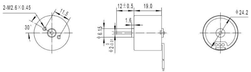 供应TEC2419小家电,日本电产小电机