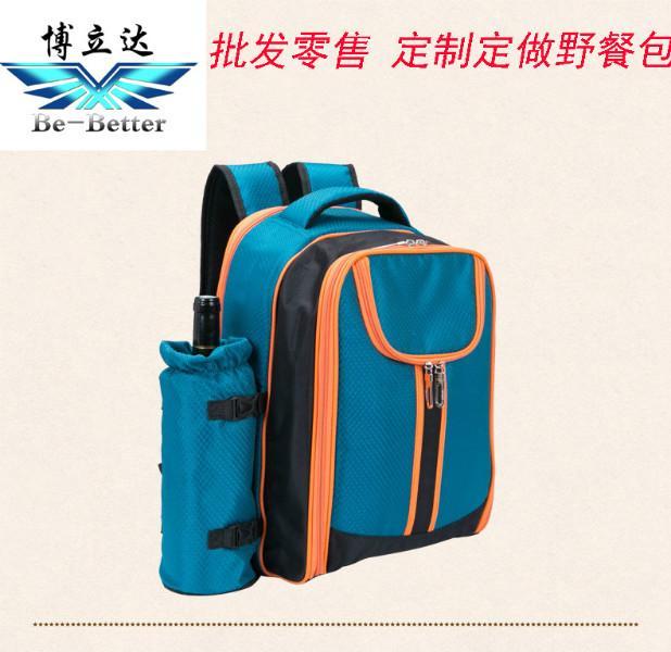 供应旅游旅行四人野餐包保鲜包含餐具