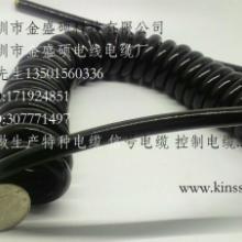 供应烟台曲线/卷筒电线/TPU耐高温螺旋电缆/机械用螺旋电线价格实惠批发