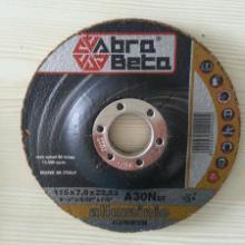 供应进口铝材角向打磨片_115x6.5x22.23mm_车厂专用图片