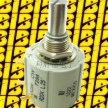 供应BI品牌7286印刷机电位器10KR线性L.25精密线绕电位器批发