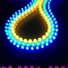 供应长城硅胶材料48cm绿光平头硅胶楼层装饰边缘照亮用led防水灯带批发