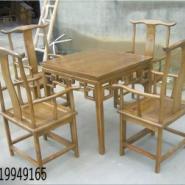 仿古家具餐桌图片