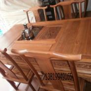 仿古家具茶桌图片