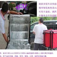 侧开车载外卖送餐箱子盒饭外卖外送图片