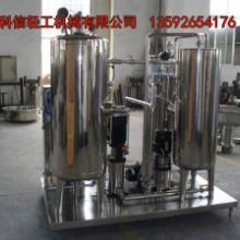 全套碳酸饮料生产线 含气饮料加工设备 小型汽水设备