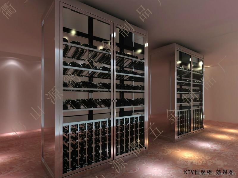 供应上海不锈钢酒柜设计订做,恒温不锈钢酒柜产品图片,不锈钢酒架价格