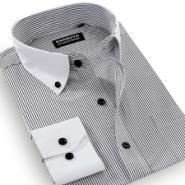 纯棉长袖衬衫图片