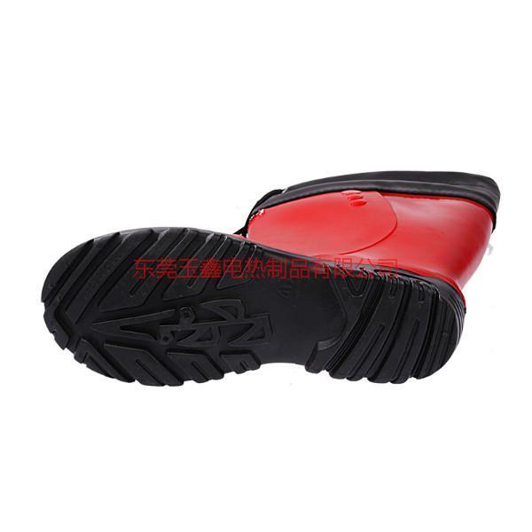 冬季充电暖脚电热发热高帮棉靴销售