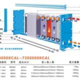 供应游泳池查理板换热器/板式热交换器/BR01-4 48万Kcal