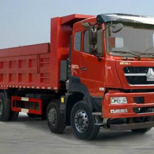 斯太尔280马力自卸式垃圾车图片