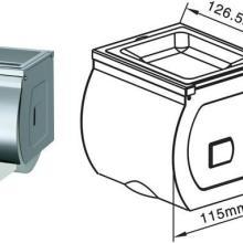 供应不锈钢小卷纸箱-卫生间防水卷纸盒成都生产厂家批发