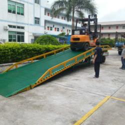 供应东莞叉车移动平台 叉车上下货登车桥生产厂家