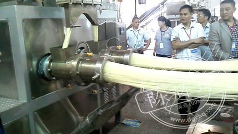 供应粉丝生产机械,陈辉球20年米粉生产经验