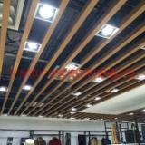 供应商城铝方通 铝合金格栅天花板 条形扣板 万达商城铝方通吊顶效果图