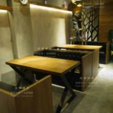 供应广东酒吧老木头椅子复古做旧椅桌子批发