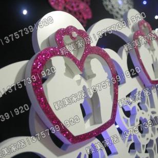 专业生产立体智能婚庆道具图片