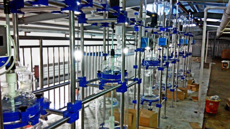 供应提纯玻璃反应釜,金刚石提纯玻璃反应釜,璃反应釜厂家