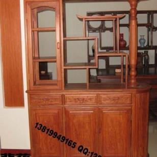 红木家具玄关柜图片