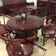 非州红酸枝茶桌图片