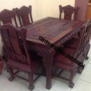非洲酸枝餐桌图片
