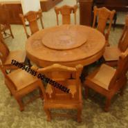 东阳红木家具圆桌图片