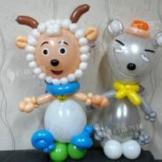 卡通气球造型/喜羊羊气球造型图片