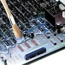 深圳寶力有機硅三防漆三防膠527,環保有機硅三防漆專業生產圖片