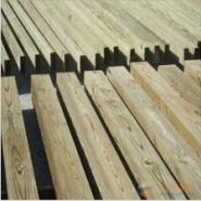 贵州南方松防腐木加工厂图片