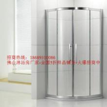 供应工程沐浴房淋浴玻璃屏封沐浴玻璃屏封淋浴玻璃屏风