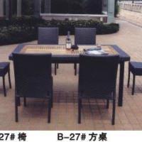 户外家具花园庭院藤编桌椅