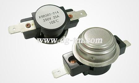 KSD大电流20A100A温控器销售