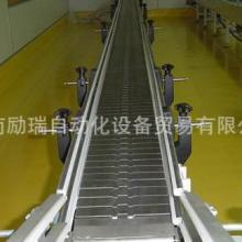 供应河南食品饮料链板输送机厂家,郑州链条输送机供应,励瑞不锈钢链板厂批发