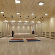 惠州高温瑜珈房专业安装图片