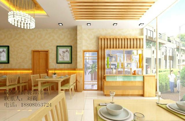 百年早餐店装修风格图木门装修风格图片2