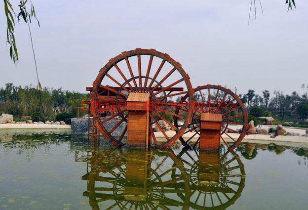 供应防腐木水车,顺旺防腐木水车订做0773-3633168,广西防腐木水车厂家