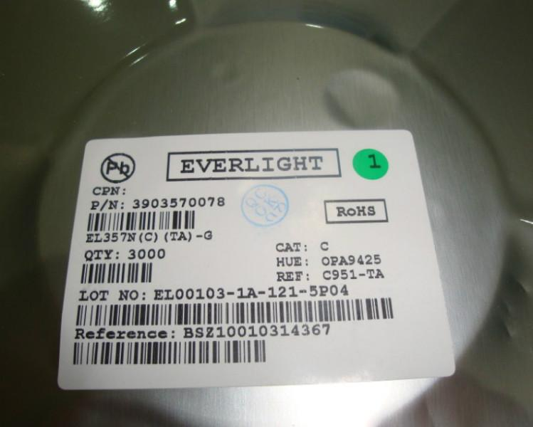 供应EL357N(C)TA-G 光耦EL光电耦合器