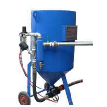 供应喷砂设备     以空压机为动力的喷砂设备
