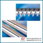 注塑机螺杆装配塑料螺杆加工图片