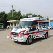 全顺V348短轴转运型救护车图片