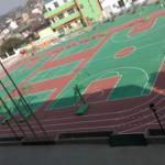 篮羽球场油漆报价