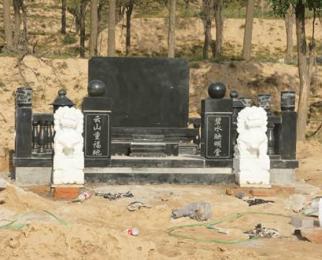 供应中国黑墓碑价格 农村高档家族墓碑图片